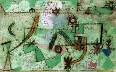 Paul Klee - Im Bachschen Stil, 1919.