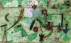 Klee, Paul : Im Bachschen Stil, 1919.