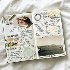"Gefällt 8,019 Mal, 68 Kommentare - journal art (@perfectapologies) auf Instagram: ""Do you journal? (cred:@studyrose)"""