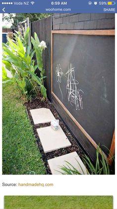 Outside Chalk Board