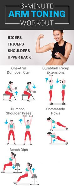 6-Minute Arm Toning Workout. #weightlossworkout #armworkout #workout #Fitness https://www.youtube.com/watch?v=Q96gA6-kRZk