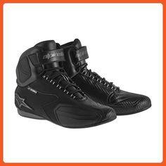 83fcb80f9ea0 Alpinestars Faster Women s Waterproof Street Motorcycle Shoes - Black Gray    8.5 - Boots for