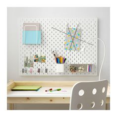 Ikea Skadis: This Product Will Instantly Organize Any Room Ikea Skadis, Ikea Hack, Ikea Bed, Ceiling Storage, Wall Storage, Paper Storage, Craft Storage, Ikea Pegboard, White Pegboard