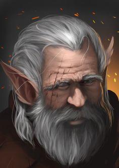 ArtStation - Old Gnome, Caio Santos