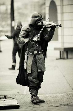 To walk through the city playing your own theme song!!!