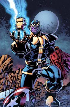 Thanos - Titan Among Men by J-Skipper on deviantART