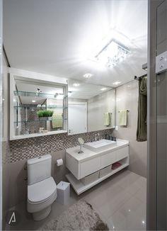 americaarquitetura | Banheiro Moderno  |Projeto: América Arquitetura | Foto: César Vieira