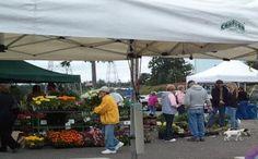 Saturday is market day at Federal Way Farmers Market in Washington 9am - 3pm http://farmersmarketonline.com/fm/FederalWayFarmersMarket.html