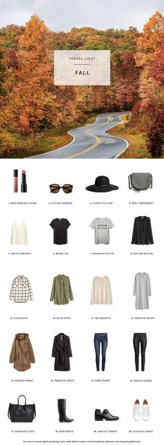 Fall Packing List on a Budget | hej doll | Bloglovin'