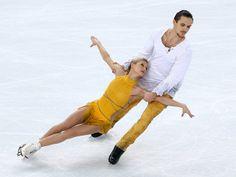 Tatiana Volosozhar and Maxim Trankov, Russia -  2014 Olympic Pairs Champions