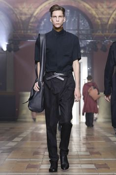 Lanvin Menswear Spring Summer 2015 Paris.  Not a suite but quite business-ready.