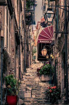 Streets of Dubrovnik, Croatia
