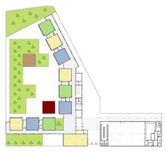Kindergarten in Rosales del Canal by Magén Arquitectos - plan