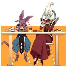 Whis and Lord Bills