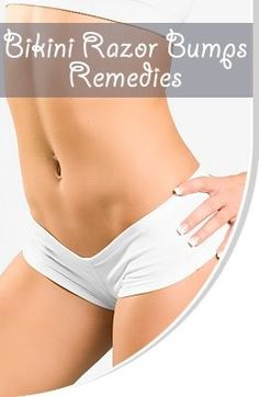 Little red rashy bumps that appear after shaving. - If you shave, it is hard to avoid them,even if you use the best shaving creams. Razor bumps around the bikini line are a common problem for women. Remedies to Treat Bikini Line Razor Bumps