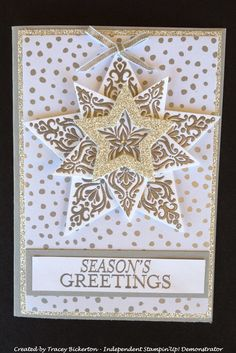 Tracey's Papercraft Creations: Shiny Stars