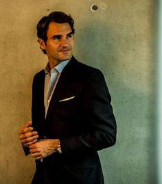 Roger Federer #Rolex — Behind the scenes with Roger in Lucerne, Switzerland / Spring 2014.