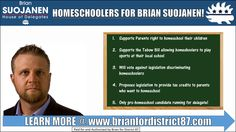 I am the only pro-homeschool candidate for Virginia's 87th House of Delegates District. #supportsuojanen  #freedom #liberty #education