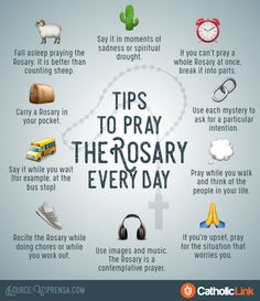Tips to Pray the Rosary Every Day