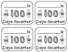 100 days down activities for the 100th day of school on for 100th day hat template