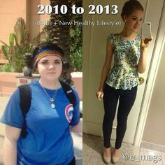 I love before and after weight loss photos. Very motivational!