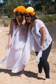 www.desertpoppy.com.au Desert Poppy Resort Wear Loungepants, Little Sandy Singlet and Indus Poncho - all sizes
