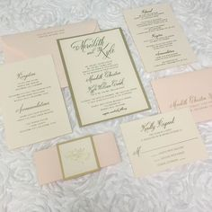 Congratulations to Mr. & Mrs. Croak! We are in love with this stunning blush and gold foil wedding suite. We wish you many years of happiness and love. Thank you for choosing Paper + More to be a part of your special day! #papernmoreok #pnmbrides #bridesok #shoplocalok