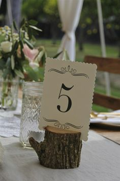 Charming little pieces for the table