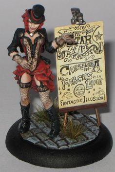 Colette, stunningly painted. #Malifaux