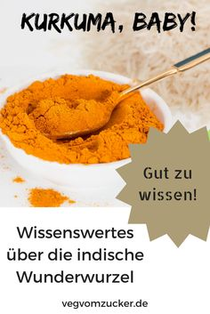 Kurkuma, Baby! Wissenswertes über die indische Wunderwurzel. Ice Cream, Desserts, Baby, Food, Turmeric Health, No Sugar Diet, Good To Know, Nth Root, Interesting Facts
