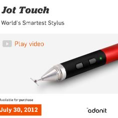 Adonit's Jot.  Visit www.popsweeps.com for a chance to #win an #iPad Accessory Package, thanks to #Adonit