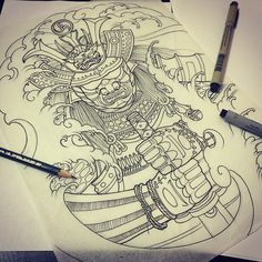 Sketch for tomorrow #samurai #maximtitanic #madfishtattoo #samuraihelmet #samuraitattoo #japaneseart #Japanesetattoo #japanesetattoos #japaneseoriental #japanesecollective #sketch #asianart #asian_inkandart #японскаятату #японскаятатуировка #ta2 #tattoo #tattoos #tattooer #tattoolife #tattootime #tattooartist #tattoosketch #tattoostudio #tattoolookbook #the_inkmasters #traditionaltattoo #thebesttattooartists