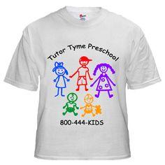 t-shirt designs for preschool students | ... Preschool kids\' logo t ...