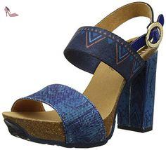 Desigual Carioca Denim Beach, Escarpins Bout Ouvert Femme, Bleu (Blue  5106), 40 EU  Amazon.fr  Chaussures et Sacs 947802339e99