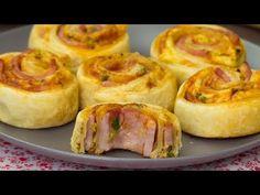 Melci cu șuncă și cașcaval- sunt incredibil de gustoși și gata în doar 30 de minute! | SavurosTV - YouTube