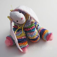 "This is a very sweet yoyo bunny rabbit who is sure wishing that he or she had somebody to love them!!    ""Rabbit Bunny Doll Yoyo Stuffed Animal Toy Keepsake"" made by EtSy artist>>>    GrandmaBeBe      Grandma BeBe's Handmades"