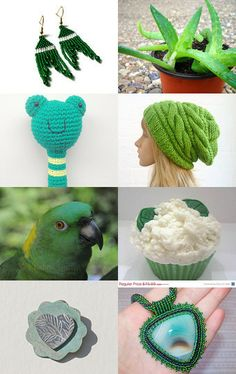 SPRING INTO GREEN - 10% Off All Featured Shops by Jennifer K. on Etsy--Pinned with TreasuryPin.com