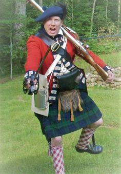 Highlander Emigrant 42nd Regiment American Revolutionary War