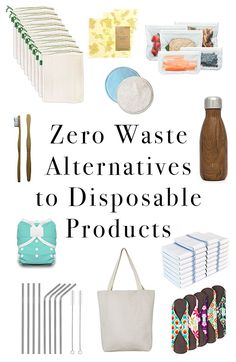 Zero Waste Alternatives to Everyday Items | Alternatives to disposable products | Reduce Waste | Zero Waste | Toxic Free | Natural Mom Life Blog