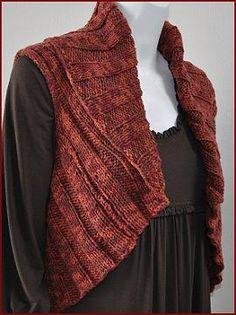 Knitting Patterns Galore - Woman's Shrug