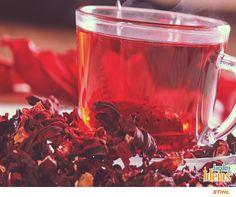 Quem mais adora chá de hibisco?    Esta bebida de coloração avermelhada auxilia na eliminação dos quilinhos indesejados! Possui substâncias antioxidantes, como os flavonoides e também as antocianinas, que têm efeito cardioprotetor, vasodilatador e contribuem para evitar o acúmulo de gorduras.   Está esperando o que para preparar o seu? 🍵