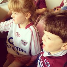 Isla & Jude enjoyed the hospitality at Brookvale oval this afternoon.  Go Manly! @manlyseaeagles #gomanly #manlyseaeagles #hopeforislaandjude