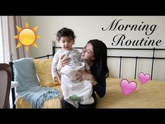 Morning Routine with a 15 month old Toddler | RealLeyla - YouTube