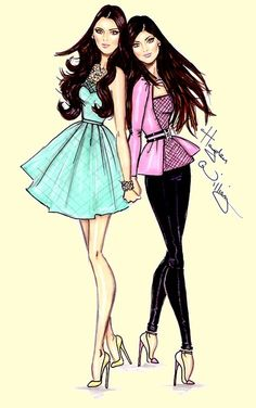 (••)                                                              Kendall & Kylie by Hayden Williams