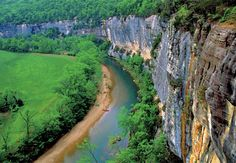 One of the most scenic rivers in the United States, the Buffalo has miraculously escaped alteration or impairment by civilization. Arkansas