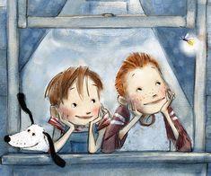 Book Illustration by Patrice Barton Arte Dachshund, Penny Black, Children's Book Illustration, Whimsical Art, Vintage Children, Illustrations Posters, Childrens Books, Art For Kids, Book Art