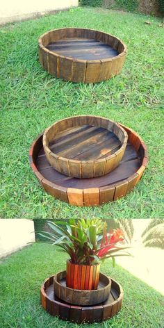 Skid Pallet Wood Reshape Projects
