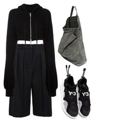 """""""219"""" by lasushi ❤ liked on Polyvore featuring Jil Sander Navy, Unravel and TSATSAS"""