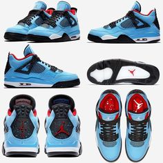 "e1f0482b733f4f Sneaker Bar Detroit on Instagram  ""Official Photos of Travis Scott s Air  Jordan 4 collab dropping in June. For more details"
