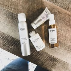 A few favorites I?ve been using this Ouai wave spray for a month + it?s a little miracle worker. You don?t need a lot for easy, beachy waves. Shop then all at the link in my bio #ShopStyle
